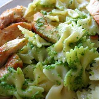 Pesto Pasta & Chicken.