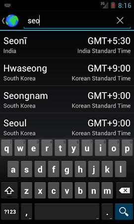 World Clock & Weather Widget 1.8.3 screenshot 530699
