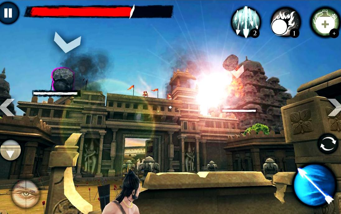 Kochadaiiyaan:Reign of Arrows- screenshot