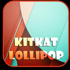 Wallpapers (kitkat,lollipop)