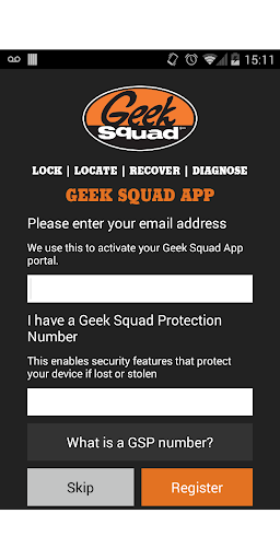 Geek Squad Locked Found