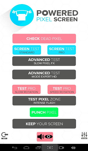 Powered Pixel Screen