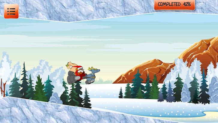 Santa's сhristmas flight screenshot