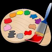 Kids Paint Drawing Animal