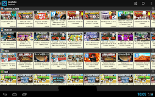 Screenshot of YogTube - Yogscast Tube