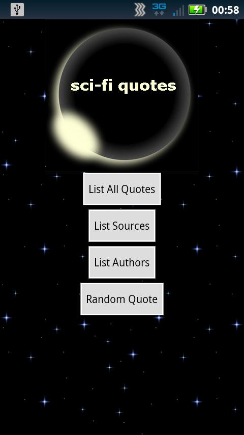 sci-fi quotes- screenshot