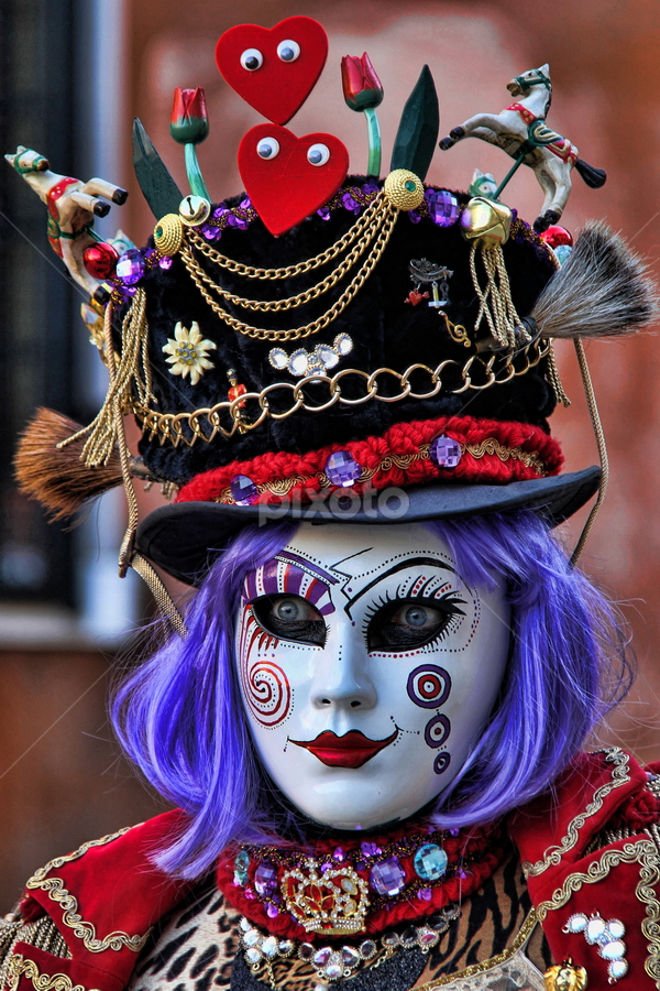 Venetian Mask by Dominic Jacob - News & Events World Events ( venezia, person, carnival, carnaval, venice, mask, italy, venetian,  )