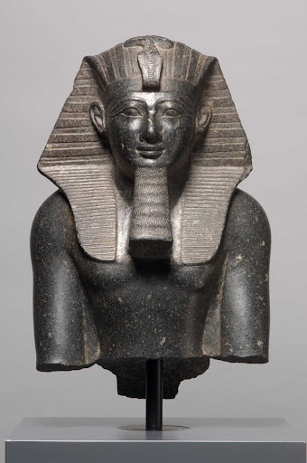 Upper part of a Statue of King Thutmose III