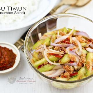 Kerabu Timun (Spicy Cucumber Salad)