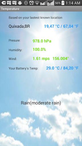Local BatteryTemperature