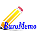 BaroMemo free(Easy Quick Memo) logo