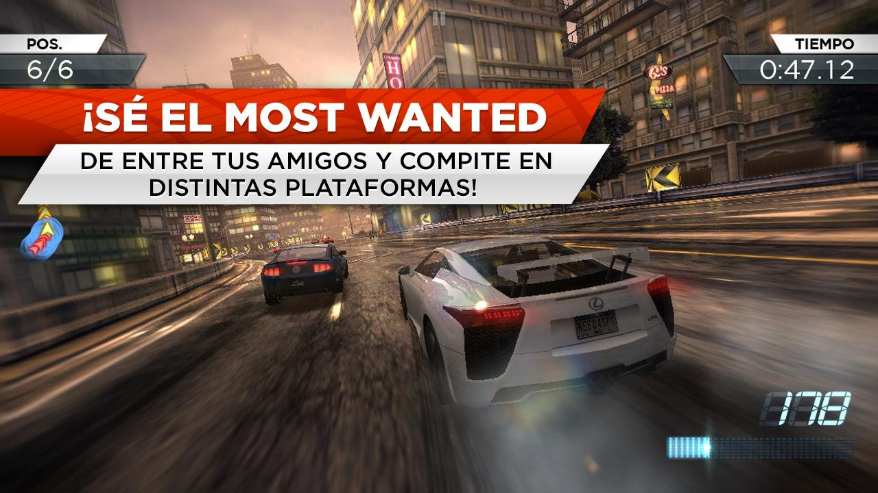 Need for speed most wanted aplicaciones android en for Nfs most wanted android