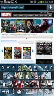 Avengers Keyboard Skins- screenshot thumbnail
