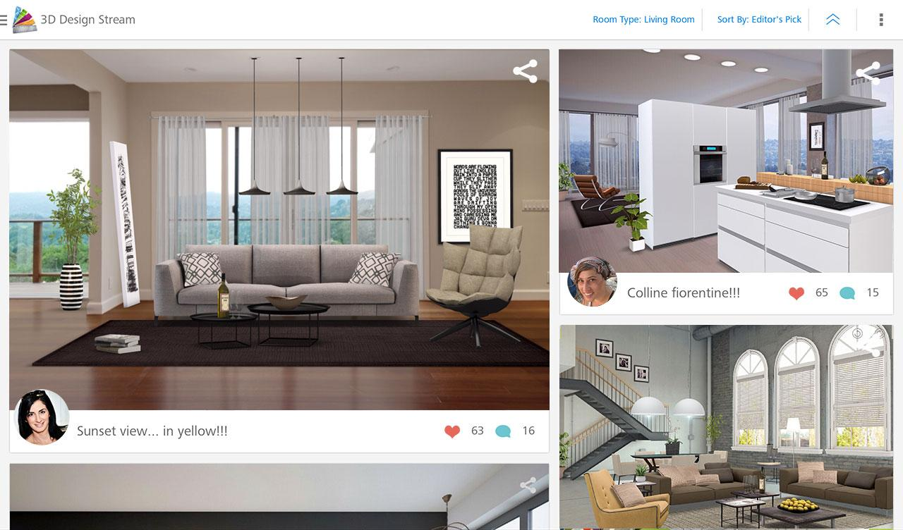 Homestyler interior design android apps auf google play for Interior design online app