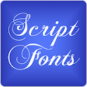 Script 2 Fonts for FlipFont® icon