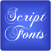Script 2 Fonts for FlipFont®