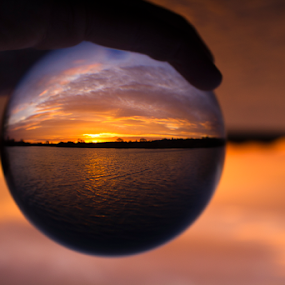 by Mike Ross - Artistic Objects Glass ( , golden hour, sunset, sunrise )