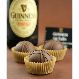Chocolate Stout {Guinness} Cake Truffles