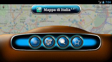 Screenshot of Map of Italy