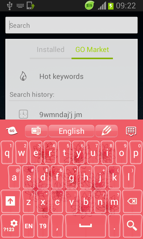 Keyboard Flowers - screenshot