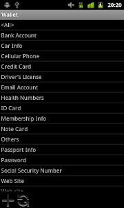 Wallet screenshot 3
