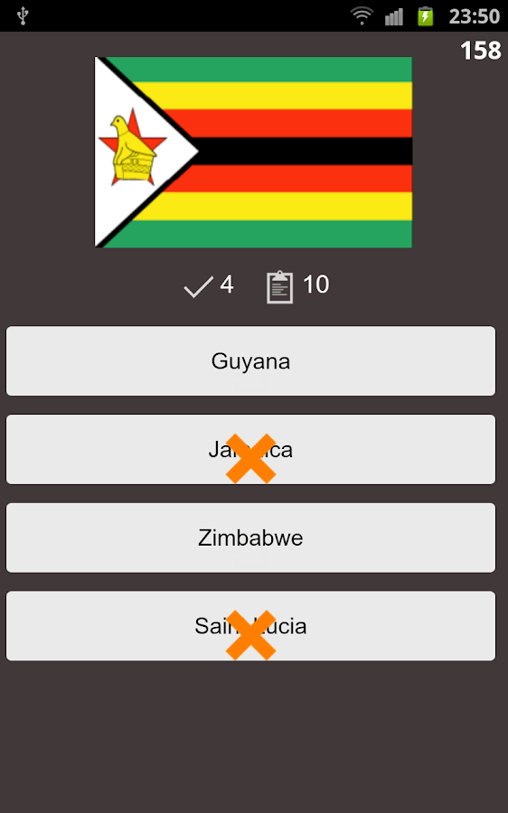 Countries Capital Flag Quiz - screenshot