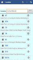 Screenshot of Delhi DTC Info