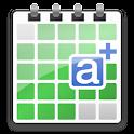 aCalendar+ Android Calendar logo