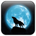 Moon&Wolf live wallpaper icon