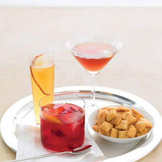 Cranberry Old-Fashioned.