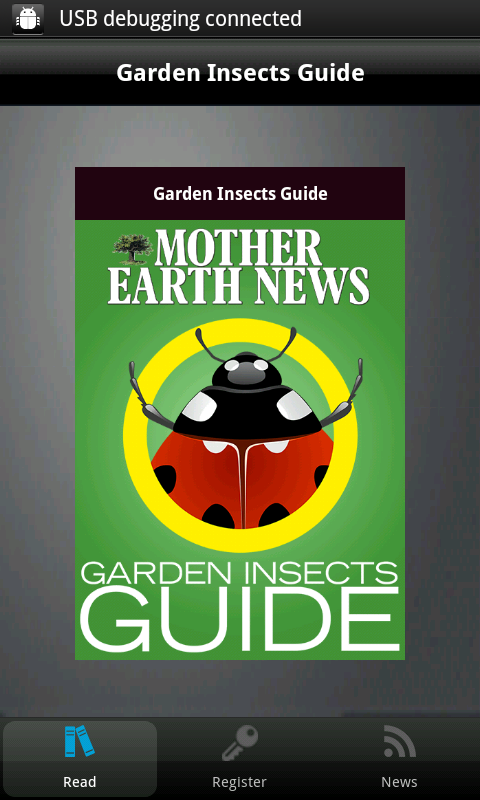 Garden Insects Guide - screenshot