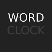 Word Clock Widget