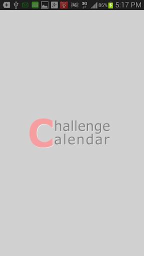 Challenge Calendar 목표달력