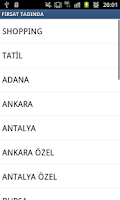 Screenshot of ŞEHİR FIRSATLARI