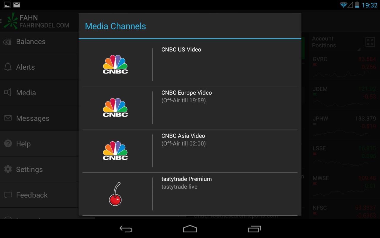 TD Ameritrade Trader - screenshot