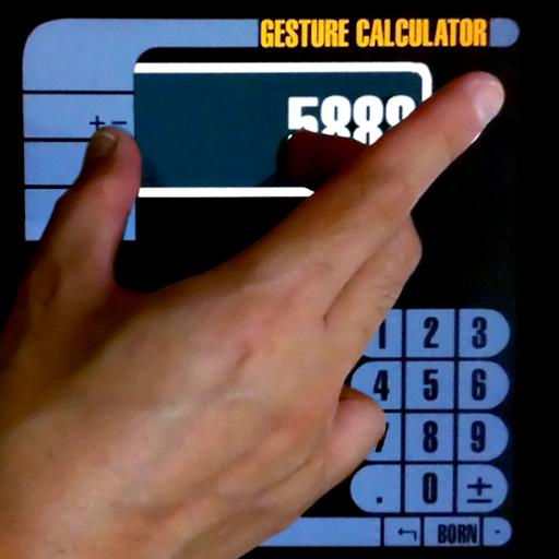 Gesture Calculator V1 LOGO-APP點子