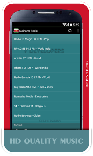 Suriname Radio - Live Radios