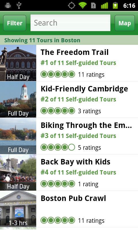 Boston City Guide screenshot #5