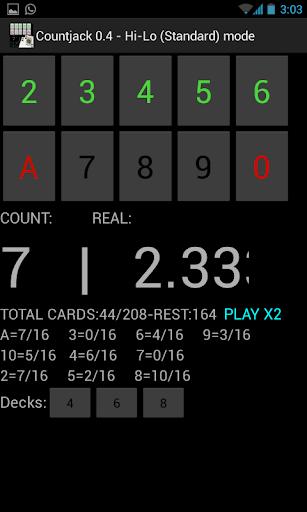 二十一点卡计数Countjack的|玩娛樂App免費|玩APPs