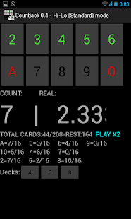 Countjack  Blackjack Tool - screenshot thumbnail