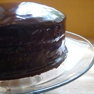 Chocolate Covered-Cherries Cake.