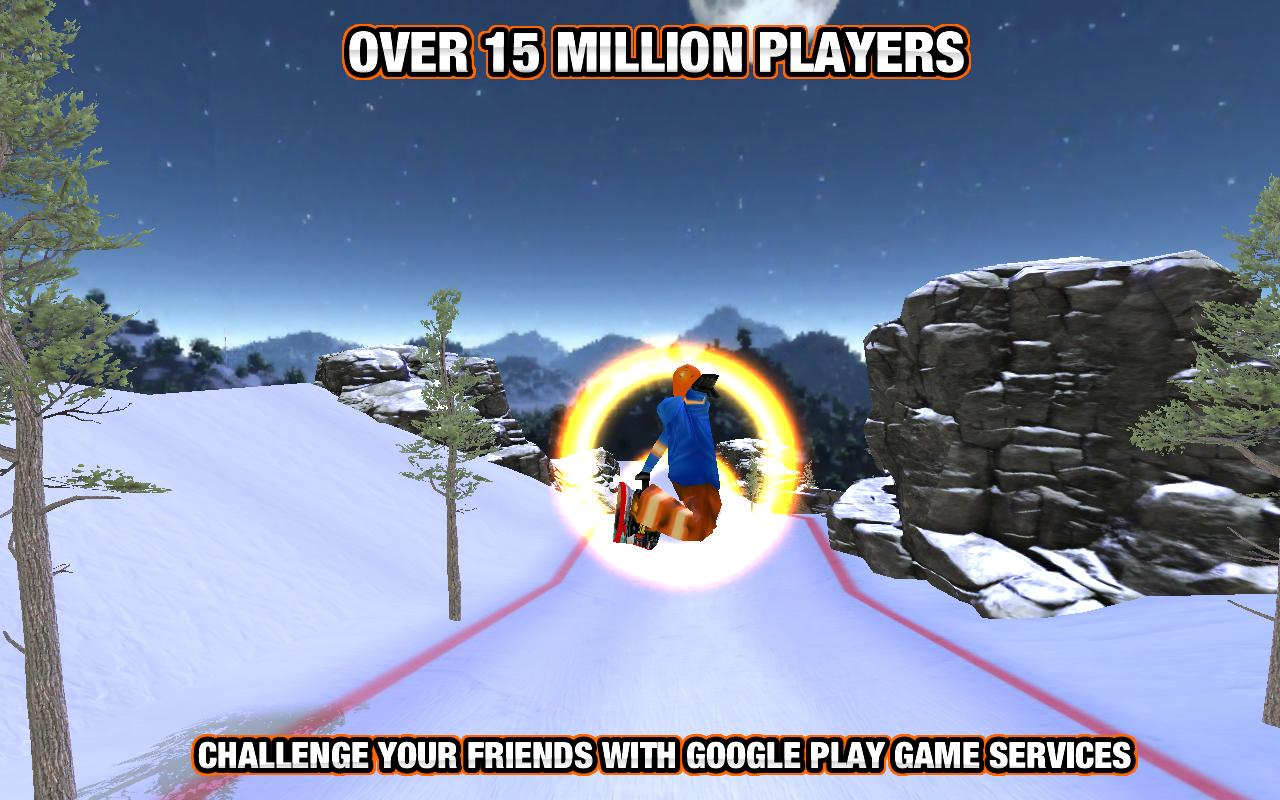 Crazy Snowboard Pro - screenshot