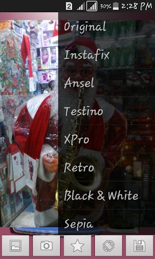Santa photoShop