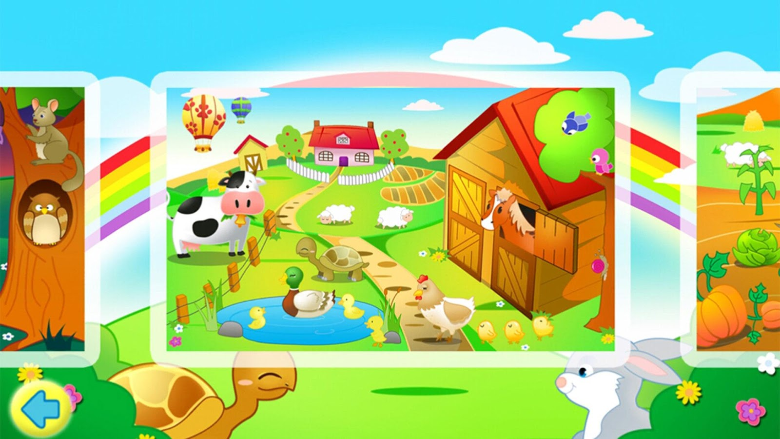 Kids Jigsaw Puzzles Farm Free - screenshot