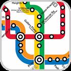 地下鉄の地図 icon