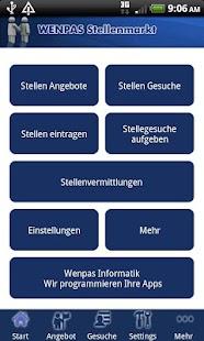 Wenpas Stellenmarkt - Jobsuche- screenshot thumbnail