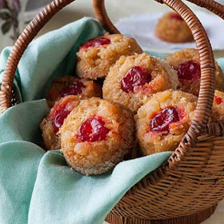 Gluten Free Pineapple Upside Down Biscuits.