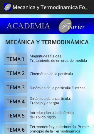 MECANICAYTERMODINAMICA FOURIER