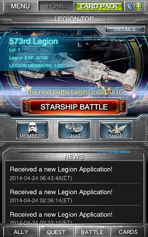 android Star Wars Force Collection Screenshot 2