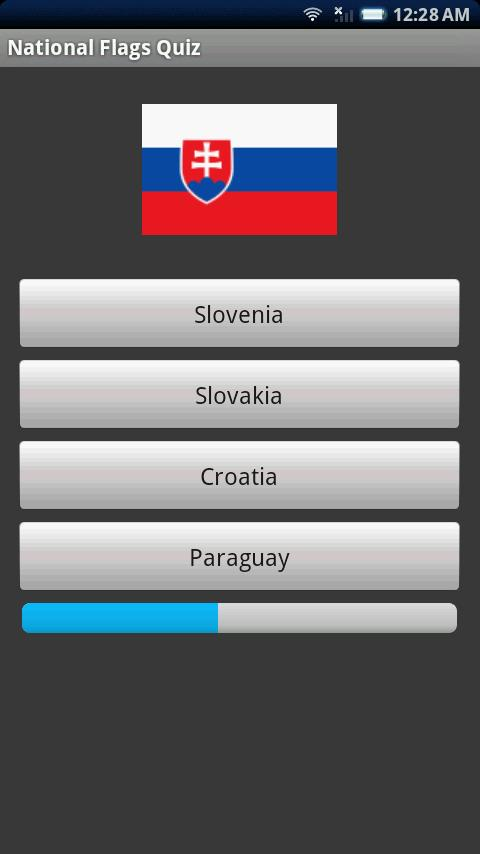 National Flags Quiz - screenshot